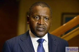 Aliko Dangote In $2bn Loan Deal With Chinese To Build Cement Plants in Nigeria